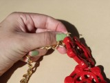 Nautical DIY Red Necklace7