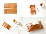 Necessary DIY Leather Travel Tissue Pouch3