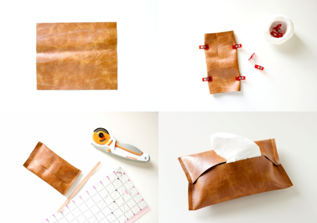 Picture Of Necessary DIY Leather Travel Tissue Pouch 3
