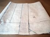 No Sew DIY Leather Paper Bag Clutch4