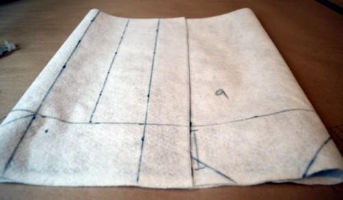 No Sew DIY Leather Paper Bag Clutch