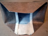 No Sew DIY Leather Paper Bag Clutch7