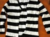Original And Fabulous DIY Cutout Striped Shirt2