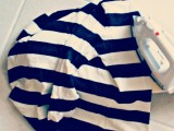 Original And Fabulous DIY Cutout Striped Shirt3