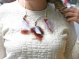 Original DIY Feather Necklace