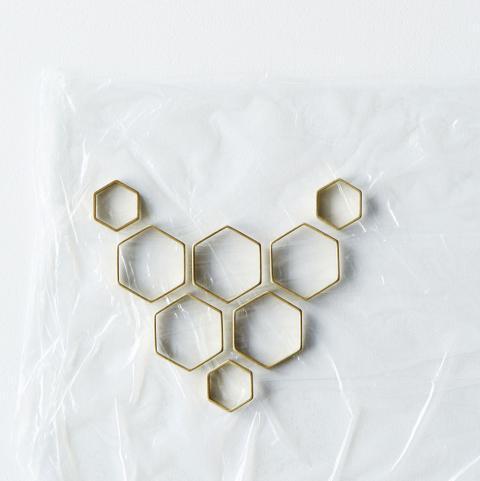 Picture Of Original DIY Honeycomb Statement Necklace 5