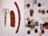 Original DIY Leather Button Cuffs3