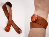Original DIY Leather Button Cuffs5