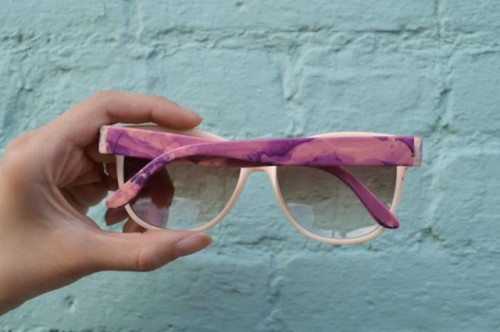 Original DIY Marbled Sunglasses