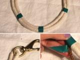 Original DIY Metallic Rope Necklace3