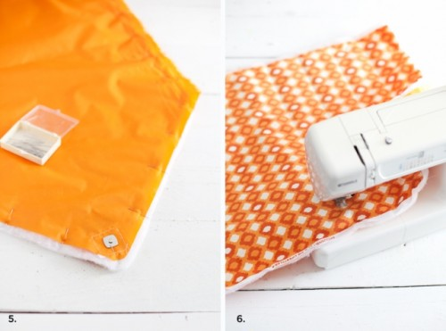 Original DIY Quilted Laptop Sleeve