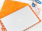 Original DIY Quilted Laptop Sleeve7