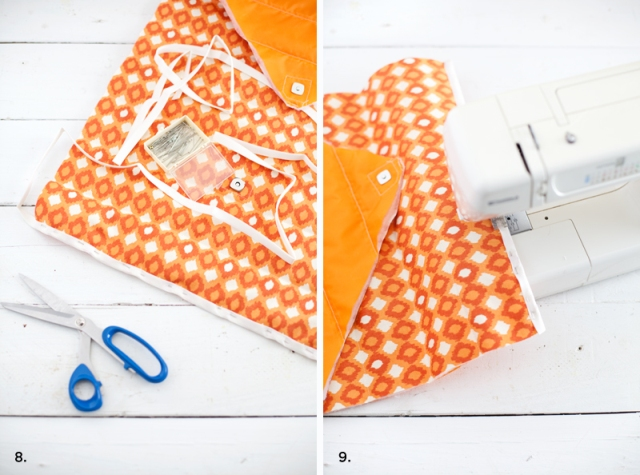 Picture Of Original DIY Quilted Laptop Sleeve 8
