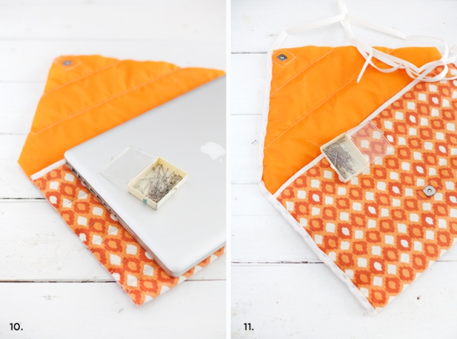 Picture Of Original DIY Quilted Laptop Sleeve 9