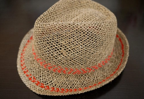 Stylish DIY Stitched Summer Hat