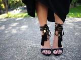 Outstanding DIY Tassel Sandals