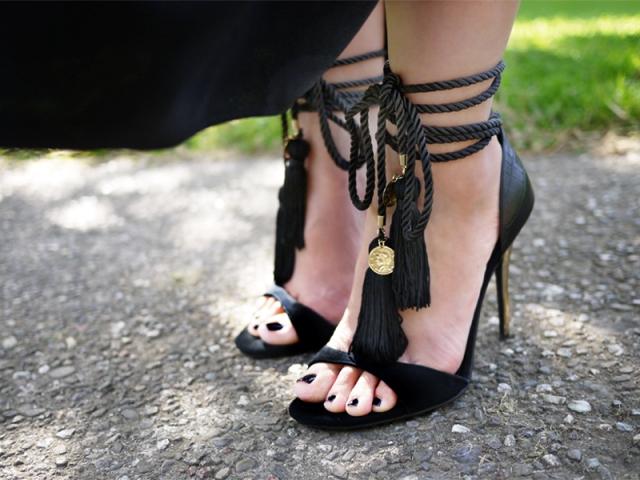 Picture Of Outstanding DIY Tassel Sandals 8