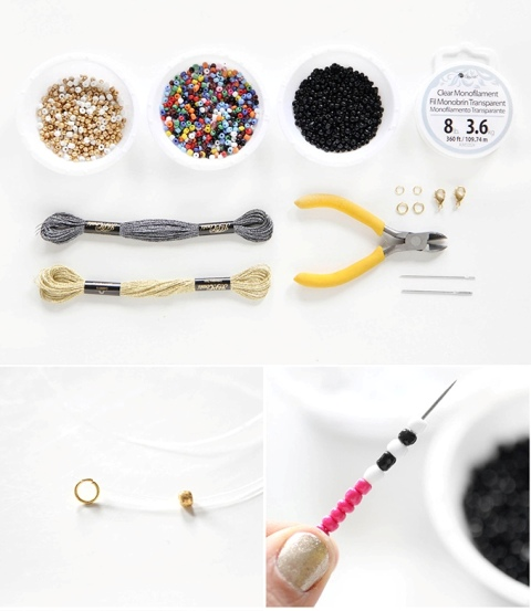 Picture Of Perfect DIY Beaded Tassel Jewelry 2