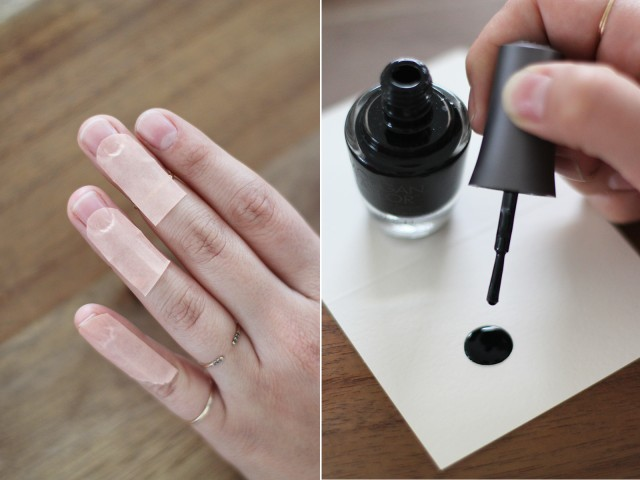 Picture Of Perfect DIY Eyelash Nail Art 4