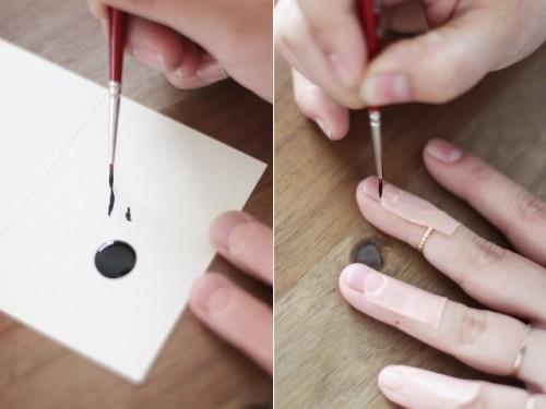Super Creative DIY Eyelash Nail Art