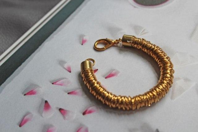 "Perfect DIY Jump Ring ""Coil"" Bracelet"