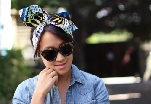 Perfect DIY Wax Print Headwrap