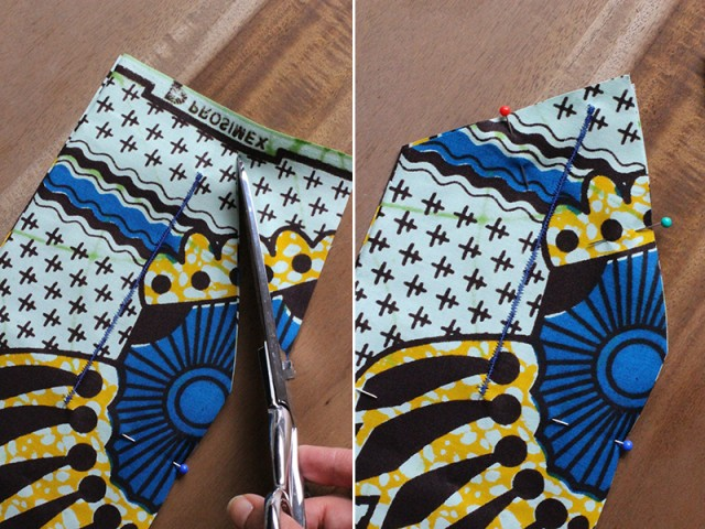 Picture Of Perfect DIY Wax Print Headwrap 4