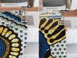 Perfect DIY Wax Print Headwrap7