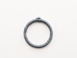 Posh DIY Thread-Wrapped Bib Necklace With Ordinary Key Rings5