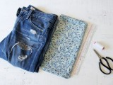 Pretty DIY Turn-Up Jeans2