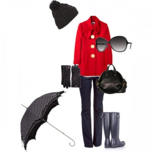 20 Fashionable Rainy Day Outfit Ideas For Women