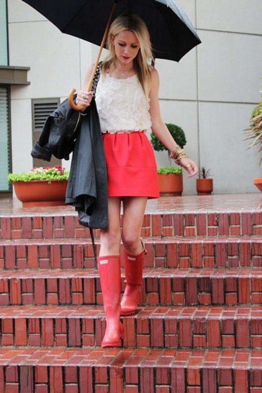 Picture Of Rainy Day Outfit Ideas 12