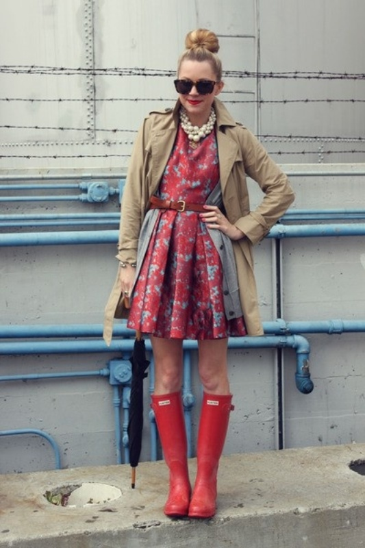 Picture Of Rainy Day Outfit Ideas 15