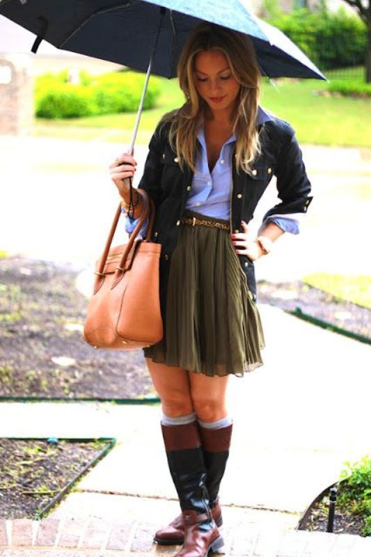 Rainy perfect day outfit ideas pictures