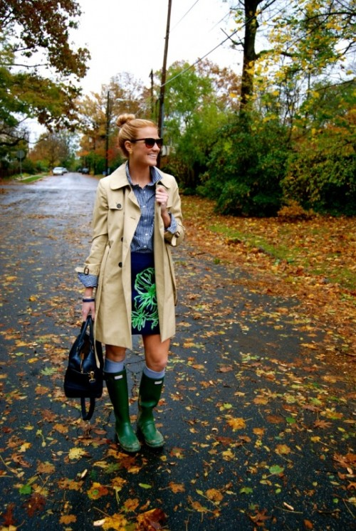 perfect rainy day outfit ideas 17