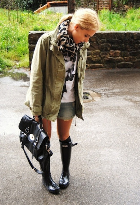 Picture Of Rainy Day Outfit Ideas 20