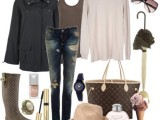 Rainy Day Outfit Ideas 3