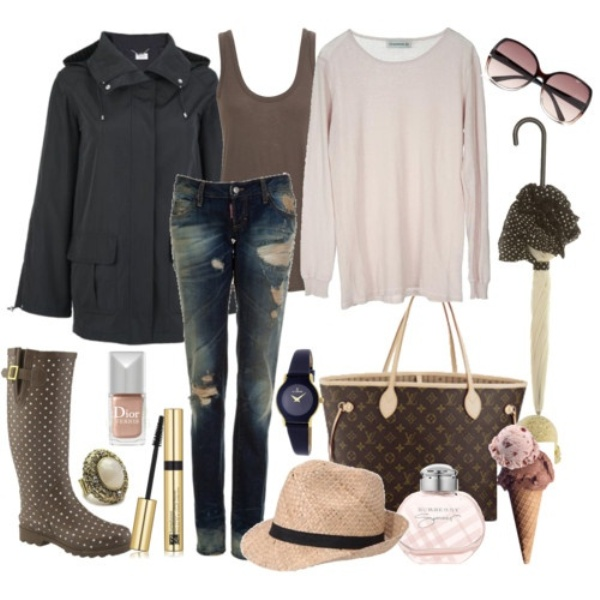 Picture Of Rainy Day Outfit Ideas 3