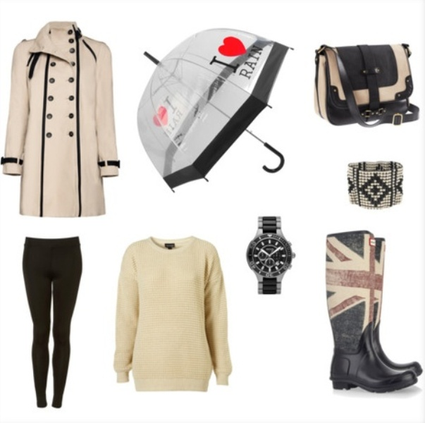 Picture Of Rainy Day Outfit Ideas 5