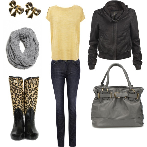 Picture Of Rainy Day Outfit Ideas 6