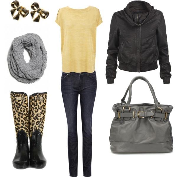 Rainy Day Outfit Ideas 6 | Styleoholic