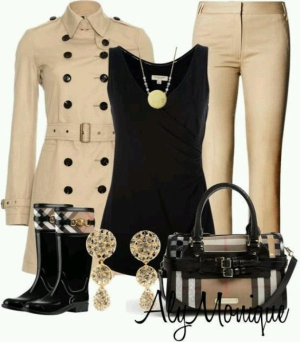 Picture Of Rainy Day Outfit Ideas 7