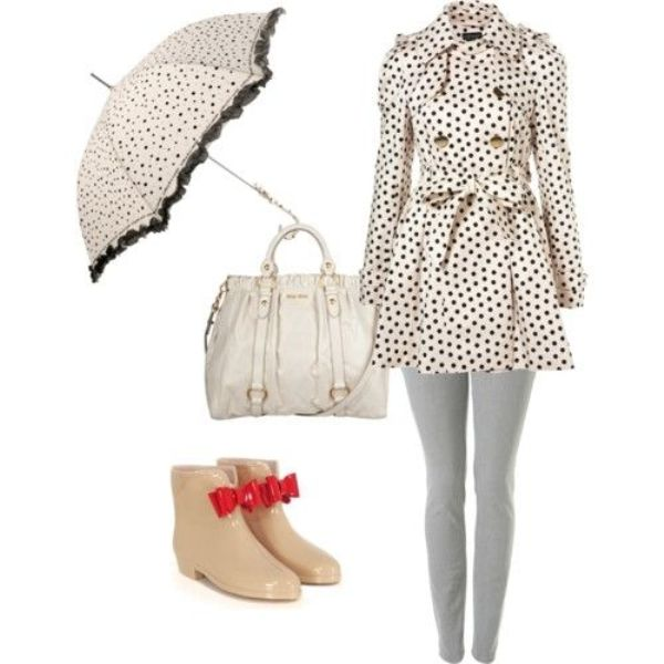 Picture Of Rainy Day Outfit Ideas 8