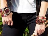 Rockin' DIY Sequin Cuffs