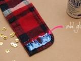 Rockin' DIY Sequin Cuffs5