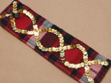 Rockin' DIY Sequin Cuffs7