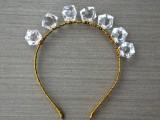 Romantic DIY Crystal Headband