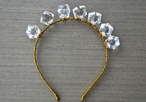 Glam DIY Big Crystals Headband