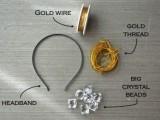Romantic DIY Crystal Headband2