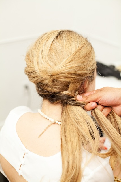 Picture Of Romantic DIY Fishtail Braid For Summer 11
